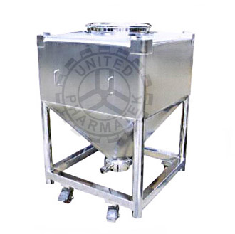 Ibc Tank Ibc Tote For Material Handling In Pharmaceutical Industry