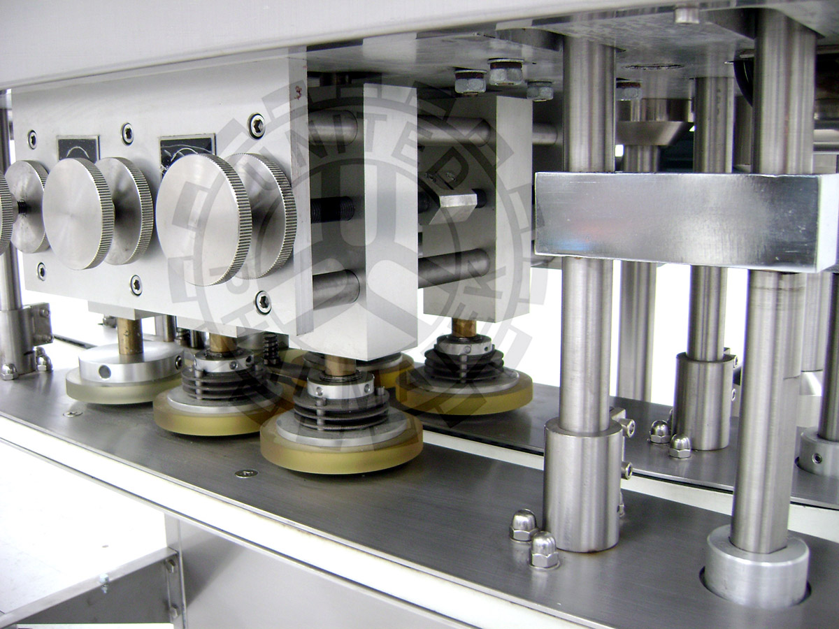 Bottle Capping Machine Spindles with Gripping Belt